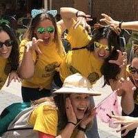 grupo chicas de despedida en Albacete