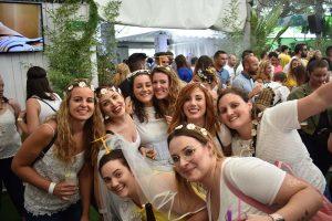 despedida chicas en Feria de Albacete