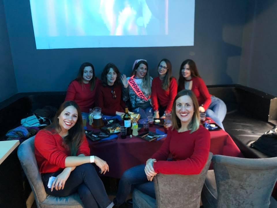 grupo de chicas de Despedida en Albacete